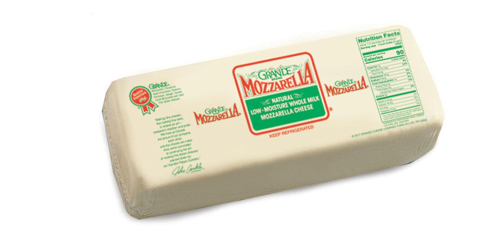 Grande Whole Milk Mozzarella Cheese