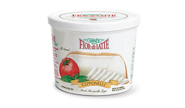 00165-Grande Fresh Mozzarella Cepponelli 5lb