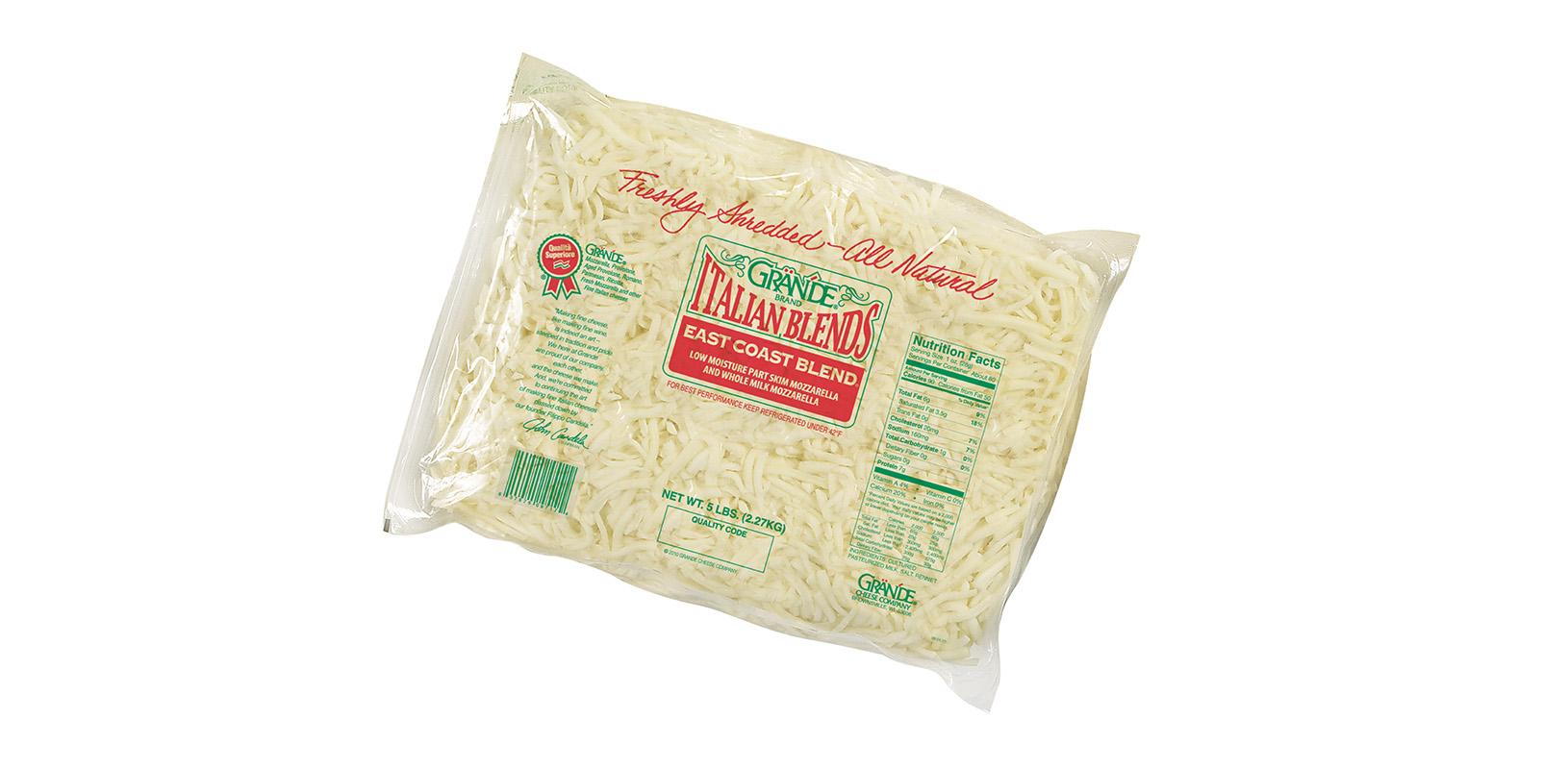 Grande East Coast Blend Cheese Shredded
