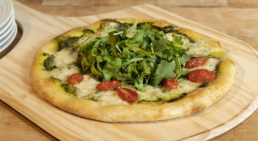 Arugula & Fresh Mozzarella Pizza