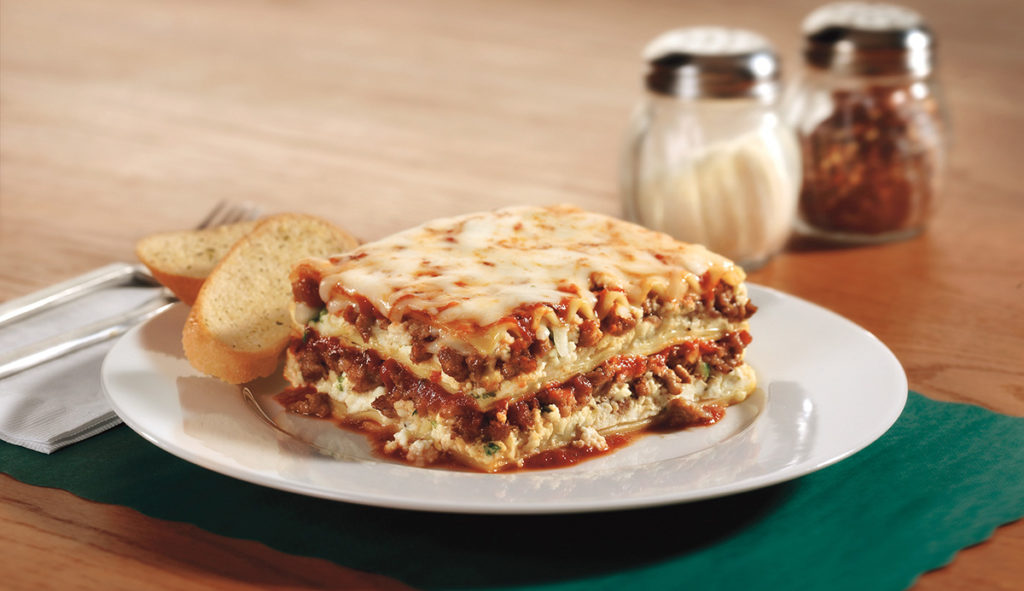 Lasagna featuring Grande Cheese
